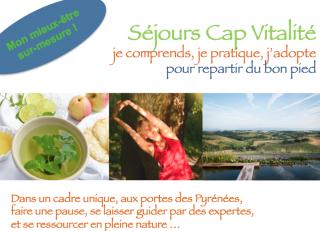 Séjour CAP VITALITE octobre 2018